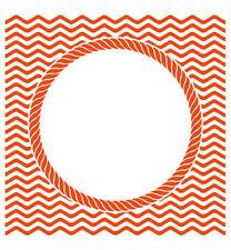 Prägefolder Embossing-Schablone Design folder Ocean view Wellen Bullauge DF3436