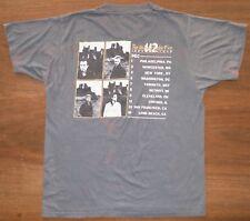 Very Rare Vintage U2 Tshirt Unforgettable Fire First Tour Venues, L