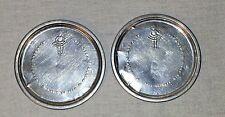 Vintage Set Of 2 Childs Tin Little Bo Peep Plates