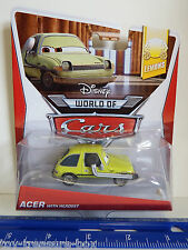 Disney PIXAR Cars LEMONS - ACER WITH HEADSET Die Cast Car- Ages 3 & up