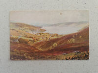 Vintage Postcard with stamp - The Lowlands. Garelochhead (88)