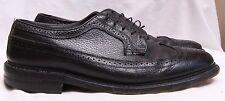 British Walkers 69367 Vintage Black Leather Wingtip Dress Oxford Men's U.S. 12 D