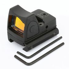 Tactical RM06 Mini Red Dot 3.25 MOA Sight Scope with 20mm Picatinny Rail Mount