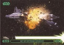 "Star Wars Jedi Legacy - Green Parallel Card 14A ""Destroys Droid Control Ship"""