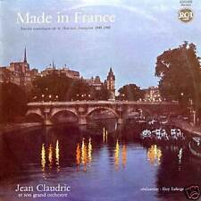 JEAN CLAUDRIC Made In France 1945-1960 FR Mono 33 Rpm