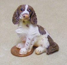 1:12 Escala Resina Springer Spaniel Perro Casa de muñecas en miniatura Pet Accesorio lp5