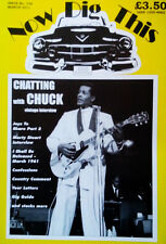Now Dig This Magazine Issue 336 March 2011 Chuck Berry Marty Stuart 1950s NEW