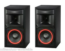 "NEW - 2 CERWIN VEGA XLS-6 125W BOOKSHELF SPEAKERS - 6.5"" WOOFER - Authorized DLR"
