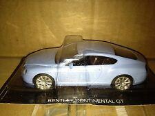 BENTLEY CONTINENTAL GT- Blue 1:43**New Dealer Item**Rare