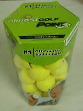 Almost Point3 36 golf balls resticted flight yellow