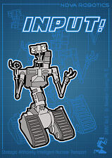 Short Circuit Print - Johnny 5 illustration