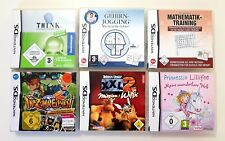 6 Nintendo DS Spiele