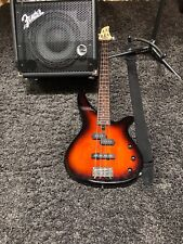 YAMAHA 4 STRING ELECTRIC BASS COMPLETE BUNDLE WITH ORIGINAL PACKAGING