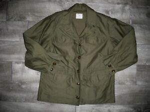 RARE Vtg WW2 WWII Dated 1944 US Army Military M-1943 Women's Field Jacket 14 R