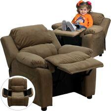 Flash Furniture Brown Kids Recliner, Brown - BT-7985-KID-MIC-BRN-GG