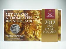 *** 5 EURO Gedenkmünze ÖSTERREICH 2012 Gesellschaft Musikfreunde Wien im Folder