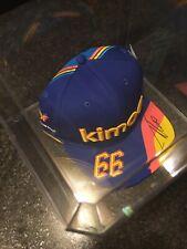 2019 FERNANDO ALONSO signed Kimoa McLaren Indy 500 Indy Car Snapback Hat