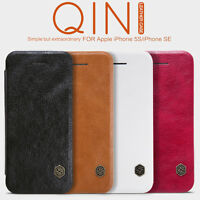 Nillkin Qin Flip Leather Card Slot Wallet Covers Cases For iPhone 5S(iPhone SE)
