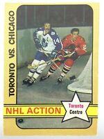 1972-73 Dave Keon Toronto Maple Leafs 209 OPC O-Pee-Chee Hockey Card P279