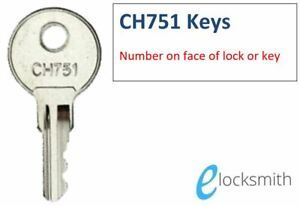 CH751 Key - RV Compartment Key - Water Filler Key - Luggage Key - FREE POST