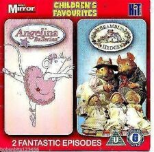 ANGELINA BALLERINA & BRAMBLY HEDGE NEW DVD