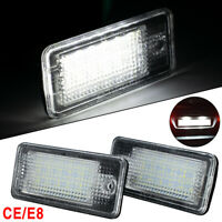 x2pc For AUDI A3 A4 S4 B6 B7 A5 LED LICENSE Number Plate Light Error Free Units