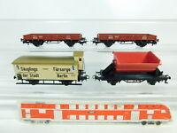 BR487-0,5# 4x Märklin H0/AC Güterwagen: 4781 Milch-Kühlwagen etc, sehr gut