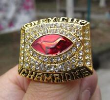 2001 Calgary Stampeders The 89th Grey Cup Championship Ring Fan Men Gift