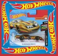 Hot Wheels 2020   ´76 GREENWOOD CORVETTE   34/250   NEU&OVP
