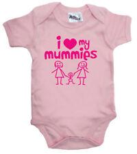 Body e pagliaccetti rosa per bambino da 0 a 24 mesi, da Taglia/Età 0-3 mesi