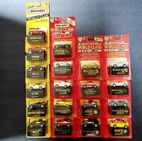 Lot of 19 Vintage Match Box World Class Collectors Edition Cars 90s OFFERS Yes!