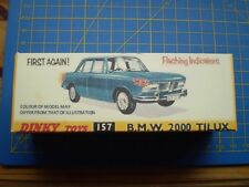 DINKY TOY REPRO BOX ONLY FOR NO 157 BMW 2000 TILUX