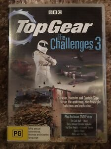 Top Gear: The Challenges 3 DVD Aus Region 4 Fast Free Post