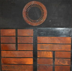 LARGE VINTAGE METAL ABSTRACT CONSTRUCTIVIST WALL HANGING ART WORK