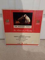 "BLP 1012 Jascha Heifetz Tchaikovsky Violin Concerto Walter Susskind HMV 10"""