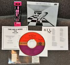 YES - TIME AND A WORD (JAPAN MINI LP) AMCY-6281