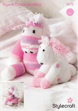 Stylecraft Unicorn Toys Merry Go Round Knitting Pattern 9276 DK