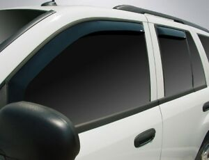 In-Channel Vent Visors for 2002 - 2006 Chevy Trailblazer EXT