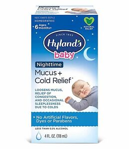 Hyland's Baby Nighttime Mucus & Cold Relief, 4 oz