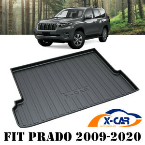 Heavy Duty Cargo Rubber Mat Boot Liner for Toyota Prado 150 Series 2009-2021