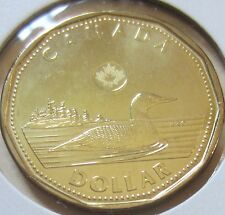 2012 Canada Security Loonie One Dollar Coin. (UNC.)
