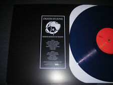 Death in June White Hands Of Death - Live Venice Italy '85 Blue Vinyl Ltd 150