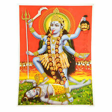 Immagine Kali Mahakali 30 x 40 cm induismo Dio stampa d'arte religione spiritualità