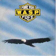 "W.A.S.P. FOREVER FREE c/w L.O.V.E. MACHINE/BLIND IN TEXAS, promo copy 12"" vinyl"