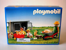 Playmobil 3751~Rabbit Hutch & Pen~Victorian Farm NISB~For Collectors 4+