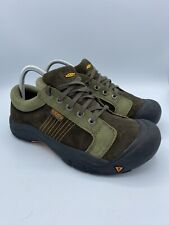 Keen Non Marking Sole Tennis Shoes Size 6 Brown Lace Up Outdoor Shoes