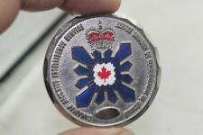 Canadian Security Intelligence Service CSIS BC Region Challenge Coin
