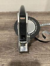 Vintage Dymo 1570 Label Maker Deluxe Chrome Metal Body