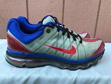 RARE NIKEiD Men's Airmax Gray Running Sneakers US 10.5 EUR 44.5