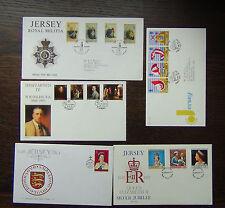 Royalty Decimal Used Channel Islander Regional Stamp Issues